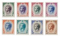 Monaco - 1955/1957 - Y&T 421/426A, neuf