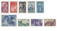 Monaco - 1944 - Y&T 265/273, neuf