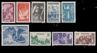 Monaco - 1944 - Y&T 265/273, nuovo