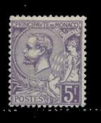 Monaco - 1920/1921 - Y&T 46, neuf avec charnière
