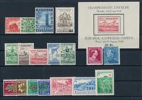 Belgique - Année complète 1950, neuf