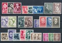 Belgique - Année complète 1955, neuf