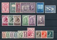 Belgique - Année complète 1956, neuf