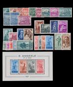 Belgique - Année complète 1948, neuf