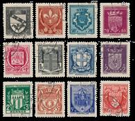 Frankrig 1941 - YT 526-37 - Stemplet