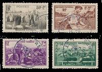 Frankrig 1940 - YT 466/469 - Stemplet