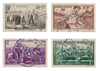 France 1940 - YT 466-69 - Oblitéré