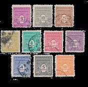 Frankrig 1944 - YT 620/629 - Stemplet