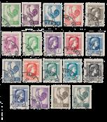 Frankrig 1944 - YT 630/648 - Stemplet