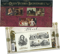 Grande-Bretagne - Reine Victoria - Présentation Souvenir