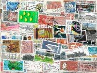 Danimarca - 600 francobolli diff.