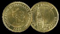 Danmark  Københavns Rådhus 20 kr