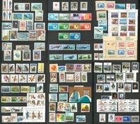 Diverse lande - Tyk indstiksbog med postfriske ud gaver