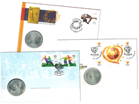 Portugal - 3 møntbreve