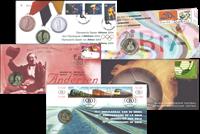 Belgien - 27 møntbreve