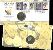 Grande-Bretagne - Lettre philatélique-numismatique  rare
