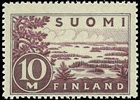 Finland - LAPE 156cP3 - Postfrisk