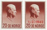Norge - AFA 279-280 - Postfrisk