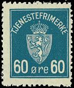 Norge - AFA nr. 7 - Postfrisk