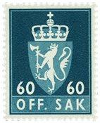 Norvège - Timbres service - AFA 81 - Neuf