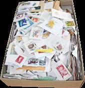 Danimarca - francobolli da missioni 1 kg