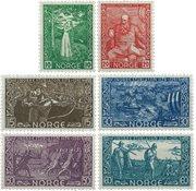 Norge - AFA 265-270 - Postfrisk