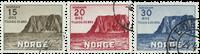 Norge - AFA nr. 290-293 - Stemplet