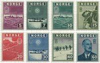 Norvège - AFA 310-317 - Neuf