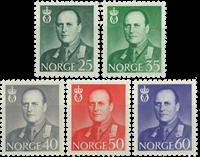 Norvège - AFA 485-489 - Neuf