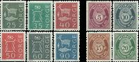 Norvège - AFA 492-501 - Neuf