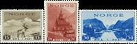 Norge - AFA nr. 196-198 - Postfrisk