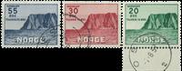 Norvège - AFA 394-396 - Oblitéré