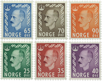 Norvège - AFA 410-415 - Neuf