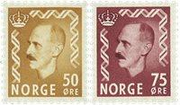 Norge - AFA 428-429 - Postfrisk