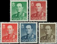 Norvège - AFA 432-436 - Neuf