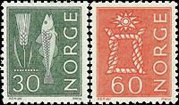 Norvège - AFA 537-538 - Neuf