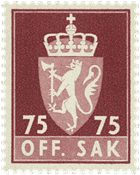 Norvège - Timbres service - AFA 85 - Neuf