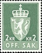 Norvège - Timbres service - AFA 89F - Neuf