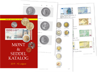 AFA - Denemarken munten en bankbiljetten catalogus  2019