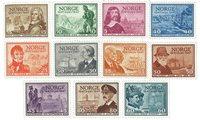 Norvège - AFA 337-347 - Neuf
