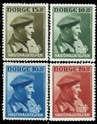 Norge - AFA 324-327 - Postfrisk
