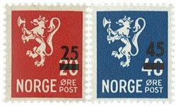Norge - AFA 553+561 - Postfrisk