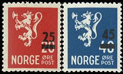 Norge - AFA nr. 553+561 - Postfrisk