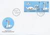 Denmark - National bird - First day cover with stamps