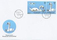 Danemark - Oiseau national - Env. premier jour avec timbres