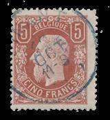 Belgique - 1869/1883 - OBP 37 - Oblitéré