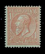 Belgique - 1884/1891 - OBP 51 - Neuf avec charnière