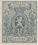 Belgien 1866-67 - OBP 22 - Ubrugt