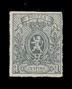 Belgique - 1866/1867 - OBP 22 - Neuf avec charnière