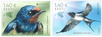 Estonia - EUROPA 2019 National birds - Mint set 2v